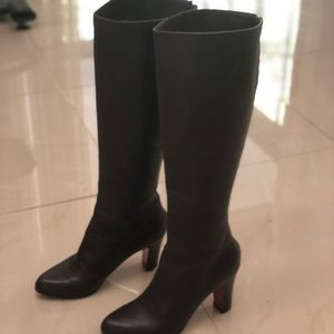 Christian Louboutin Paris Brown Leather Boot 👢